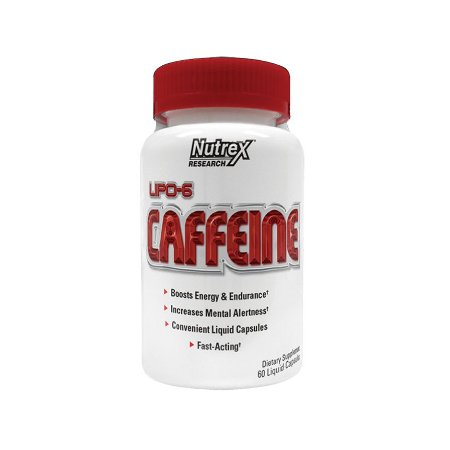 Lipo-6 Caffeine - 60 Caps - Nutrex Research