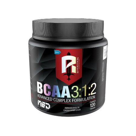 BCAA 3:1:2 - 120 Caps - Mednutrition
