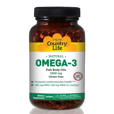 Omega 3 - 200 softgels - Country Life