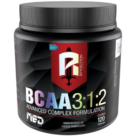 BCAA 3:1:2 - 400 Caps - MedNutrition
