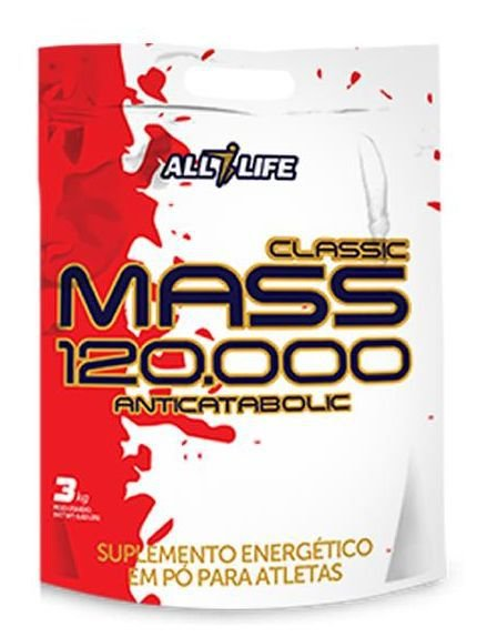 Classic Mass 120.000 Anticatabolic - 3kg - All Life Nutry