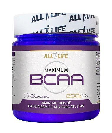 Maximum BCAA 100% - 200g - All Life Nutry