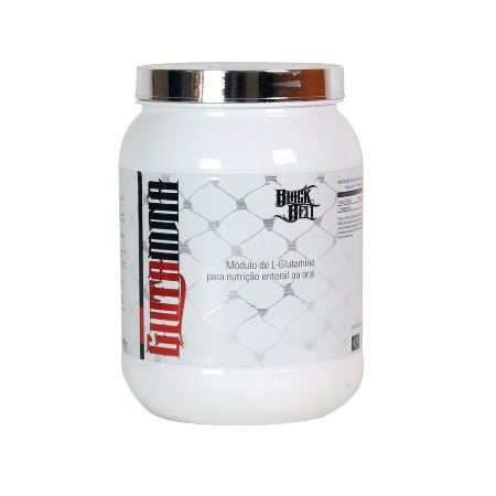Glutamina - 300g - Black Belt - Steel Nutrition