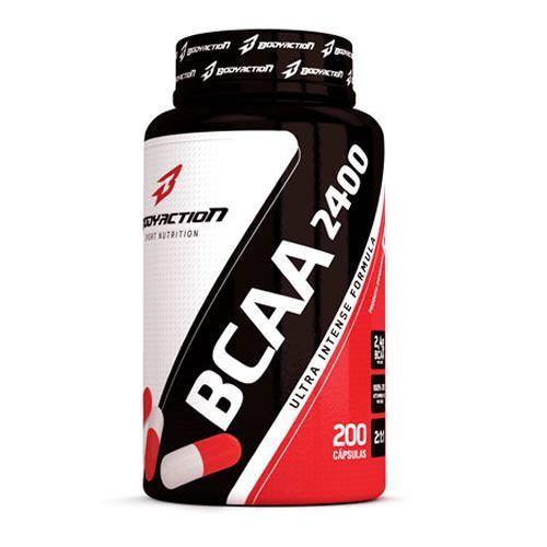 BCAA 2400 - 200 Caps - BodyAction