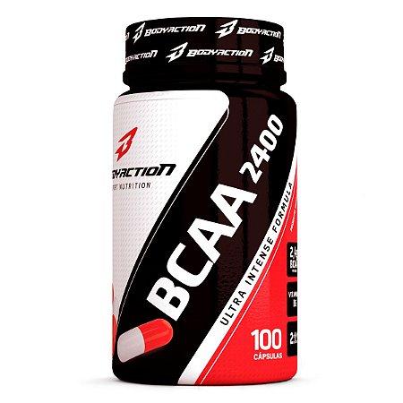 BCAA 2400 - 100 Caps - BodyAction