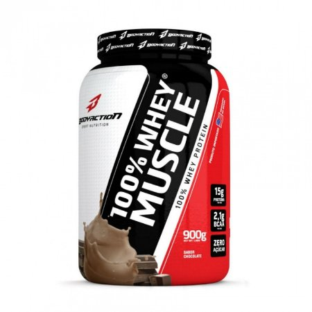 100%  Whey Muscle 900g - BodyAction