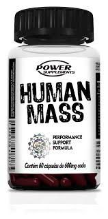 Human mass - 60 Caps - Power Supplements