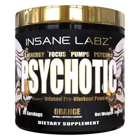 Psychotic Gold - 35 Doses - Insane Labz