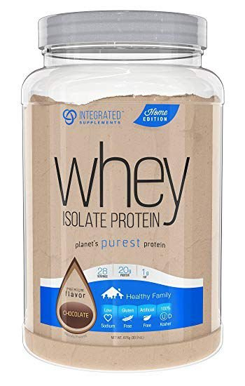 Whey Isolate Protein - 837g - Integrated Suplements
