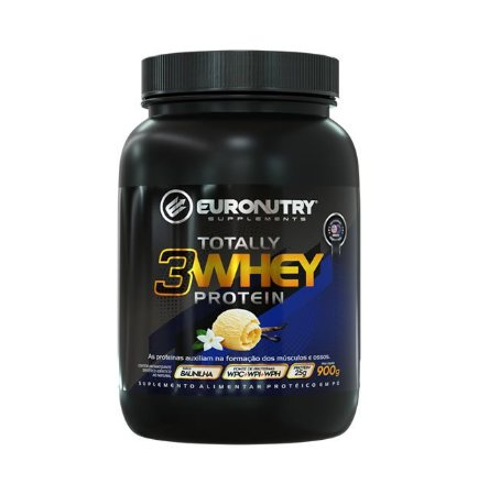Totally 3W Whey Protein - 900g - Euronutry