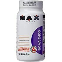 BCAA 2400 - 60 caps Max Titanium