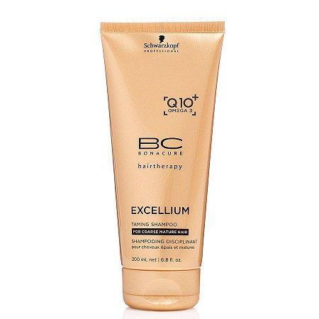 Schwarzkopf Bonacure Excellium Taming - Shampoo Disciplinante 200ml