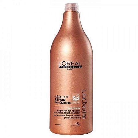 L'Oréal Professionnel Absolut Repair Pós Química - Shampoo Detox 1500ml