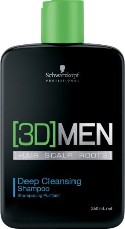 Schwarzkopf [3D]MenSion Deep Cleansing - Shampoo Anti-Oleosidade 250ml