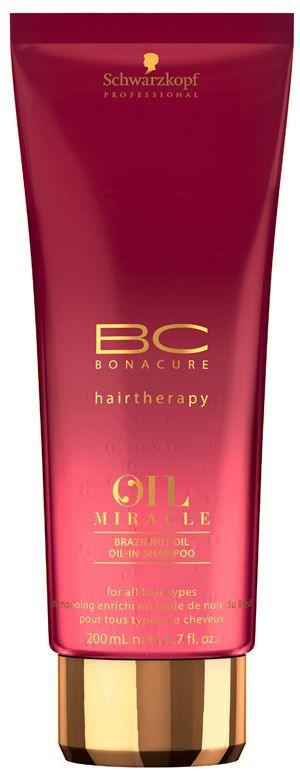 Schwarzkopf Bonacure Oil Miracle Brazilnut - Oil in Shampoo 200ml