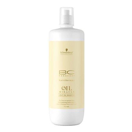 Schwarzkopf Bonacure Oil Miracle - Light Oil Shampoo 1000ml