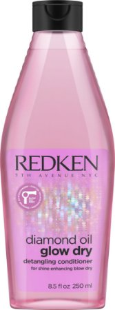 Redken Diamond Oil Glow Dry - Condicionador 250ml
