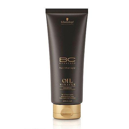 Schwarzkopf Bonacure Oil Miracle - Shampoo 200ml