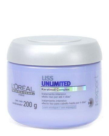 L'Oréal Professionnel Liss Unlimited - Máscara de Tratamento 200ml