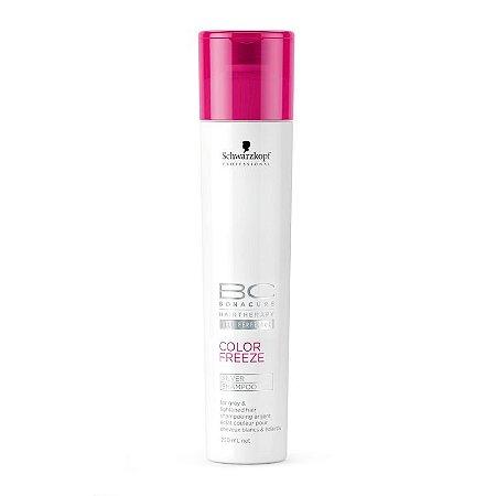 Schwarzkopf Bonacure Color Freeze Silver - Shampoo Desamarelador 250ml