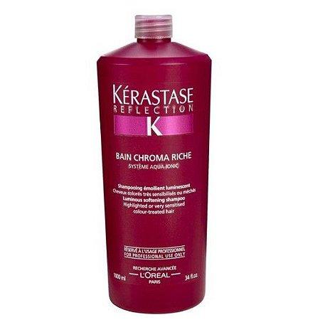Kérastase Reflection Bain Chroma Riche - Shampoo 1000ml