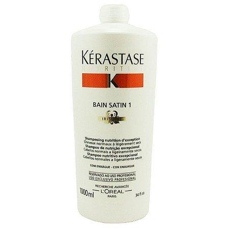 Kérastase Nutritive Bain Satin 1 - Shampoo 1000ml