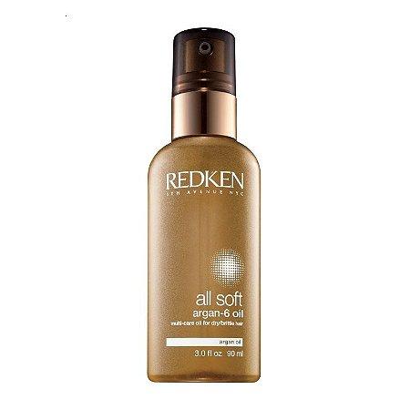 Redken All Soft Argan-6 Oil - Óleo de Argan 90ml