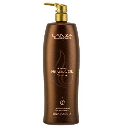 L'Anza Keratin Healing Oil Shampoo 1L