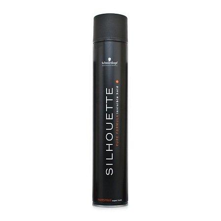 Schwarzkopf Silhouette Invisible Strong Hold - Spray de Fixação 500ml