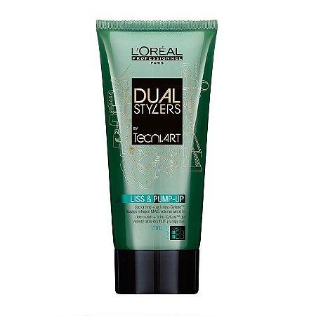 L'Oréal Professionnel Tecni Art Dual Stylers Liss & Pump-up - Creme Gel 150ml