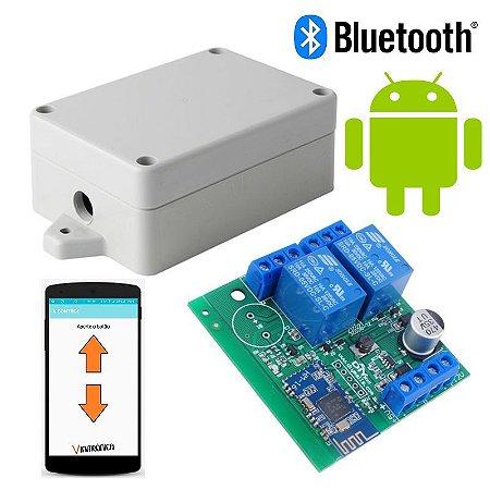 Controle bluetooth para atuador linear