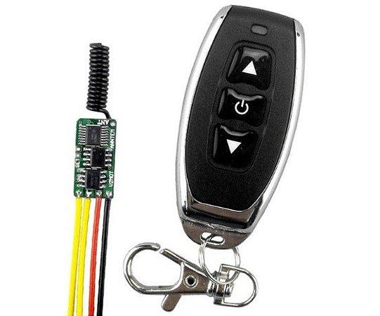 Controle sem fio p/ micro atuador (VX ou VT)