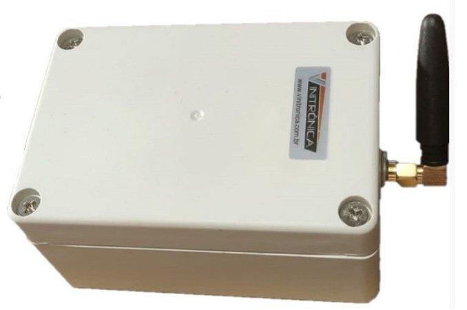 Central de comando via SMS (celular!) p/ Atuador Linear Elétrico
