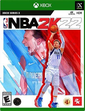 NBA 2K22 - Xbox Series X/S - Mídia Digital