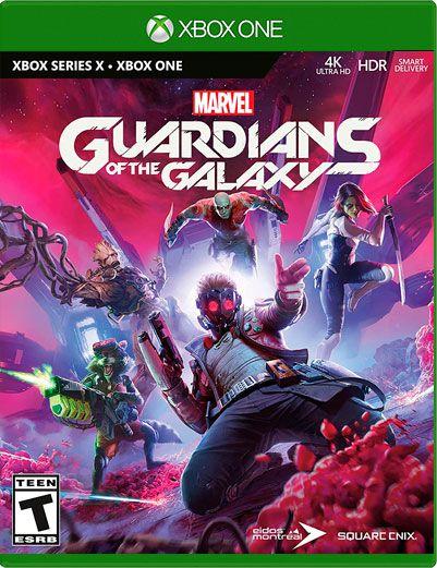 Guardiões da Galáxia da Marvel - Xbox One e Series X/S - Mídia Digital