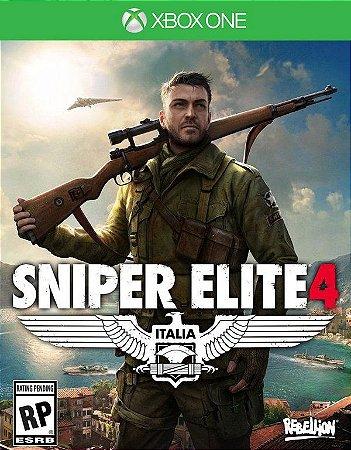 Sniper Elite 4 Xbox One - Mídia Digital