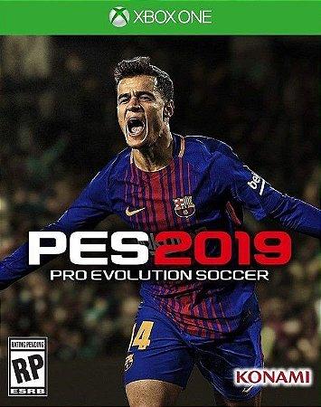 Pes 19  Xbox One - Mídia Digital