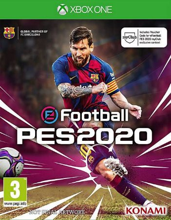 PES 2020 Xbox One - Mídia Digital