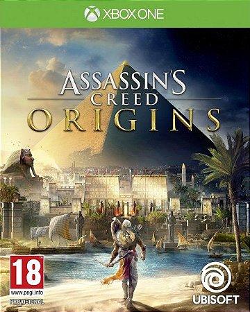 Assassins Creed Origins Xbox One - Mídia Digital