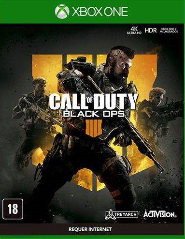 Call Of Duty Black Ops 4 Xbox One - Mídia Digital