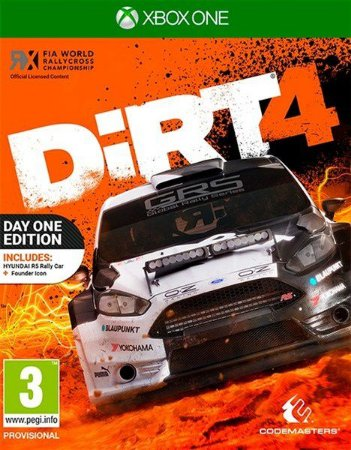 Dirt 4 Xbox One - Mídia Digital