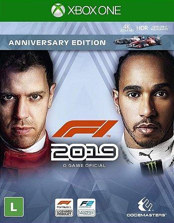 F1 2019 Edição De Aniversário Xbox One - Mídia Digital