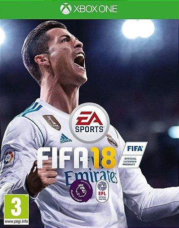 Fifa 18 Edição Standard Xbox One - Mídia Digital