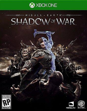 Middle Earth: Shadow Of War Xbox One - Mídia Digital