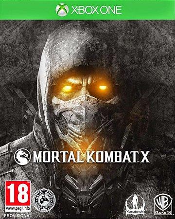 Mortal Kombat X Xbox One - Mídia Digital