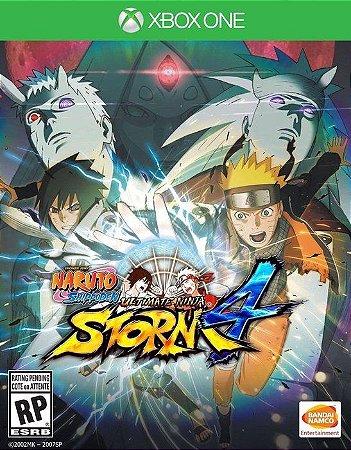 Naruto Shippuden: Ultimate Ninja Storm 4 Xbox One - Mídia Digital