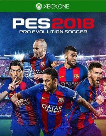 Pes 18 Xbox One - Mídia Digital