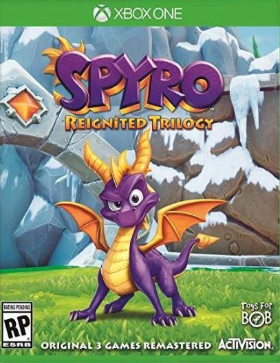 Spyro Reignited Trilogy Xbox One - Mídia Digital