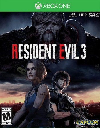 Resident Evil 3 Xbox One - Mídia Digital