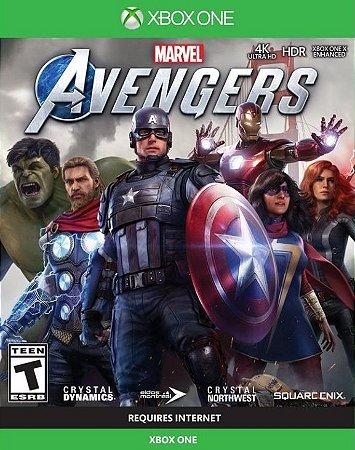 Marvel Vigadores Xbox One - Mídia Digital
